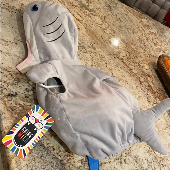 3-6 months shark outfit